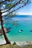 сновидение brittany пляжа Стоковая Фотография