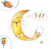 сновидения моркови иллюстрация штока