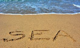 Сновидения моря Стоковая Фотография RF