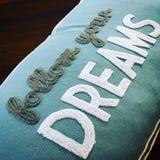 сновидения следуют за вашим Стоковая Фотография