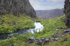 Сногсшибательный исландский ландшафт Стоковое Изображение RF