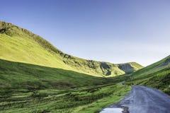 Сногсшибательный ландшафт национального парка района озера, Cumbria, Великобритании стоковое изображение rf
