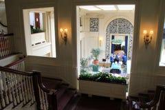 Сногсшибательная внутренняя съемка комнат и меблировк, музея дома Джордж Eastman, Rochester, Нью-Йорка, 2017 Стоковые Фотографии RF