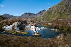 Сногсшибательная красота ландшафтов Godthul стоковое фото rf