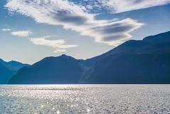 Сногсшибательные взгляды фьорда Графство больше og Romsdal Норвегия Стоковое Фото