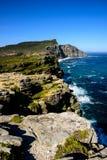 Сногсшибательный ландшафт полуострова накидки Стоковое Изображение