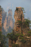 Сногсшибательный ландшафт, Zhangjiajie Китай Стоковая Фотография RF