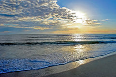 Сногсшибательный заход солнца Стоковое фото RF