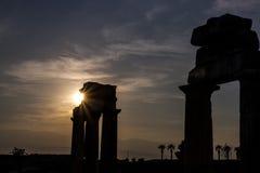 Сногсшибательный заход солнца Стоковое Изображение
