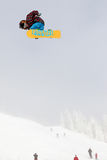 сноубординг vancouver quiksilver в марше comp 28 Стоковое фото RF