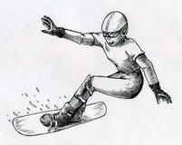 Сноуборд иллюстрация вектора