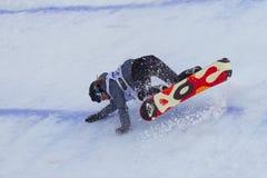 Сноуборд FIS большой кубок мира воздуха Стоковое Фото