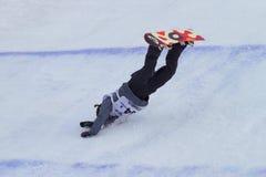 Сноуборд FIS большой кубок мира воздуха Стоковые Изображения RF