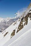 Сноуборд freerider стоковое изображение