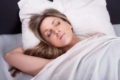 сны девушки стоковые фотографии rf