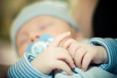 сны младенца стоковое фото