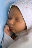сны ребенка груди Стоковая Фотография