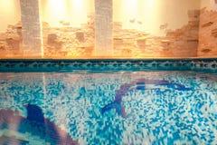 Снятый бассейна в спа-центре Стоковая Фотография RF