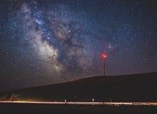 Снятый млечный путь в Goldendale, Вашингтоне Стоковая Фотография RF