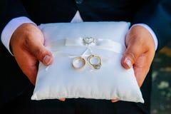 Снятый свадьбы или обручального кольца Стоковое фото RF