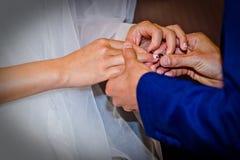 Снятый свадьбы или обручального кольца Стоковое Фото