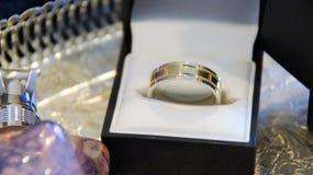 Снятый свадьбы или обручального кольца Стоковые Фотографии RF