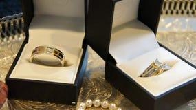 Снятый свадьбы или обручального кольца Стоковая Фотография