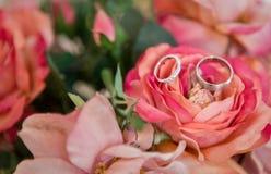 Снятый свадьбы или обручального кольца Стоковое Изображение RF