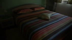 Снятый спальни сток-видео