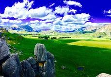Снятый холма замка Стоковое Изображение