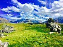 Снятый холма замка Стоковые Фотографии RF