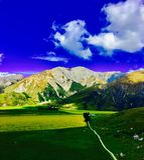 Снятый холма замка Стоковое Изображение RF