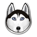 Собака лайки породы Стоковое Изображение RF