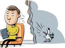 Собака лаять бесплатная иллюстрация