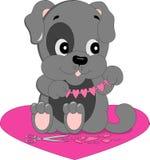 Собака в влюбленности Стоковое Фото