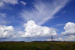 Собака в небе Стоковые Фотографии RF