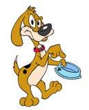 собака голодная Иллюстрация вектора
