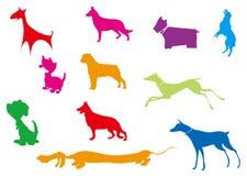 Собака иллюстрации стоковые изображения rf