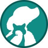собака кота птицы Стоковое Фото