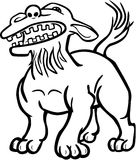 Собака льва иллюстрация вектора