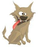 собака персонажа из мультфильма лукавая Стоковое фото RF