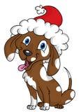 собака рождества Иллюстрация вектора