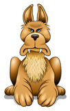 Собака сердитая бесплатная иллюстрация