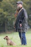 Собака лучший друг человека Стоковая Фотография