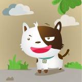 собака улыбки Стоковые Изображения