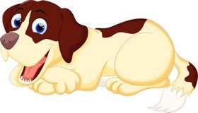 собака шаржа милая Стоковые Изображения