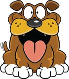 собака шаржа счастливая