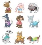 собака шаржа Стоковое Изображение RF