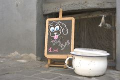 собака штанги Стоковая Фотография RF