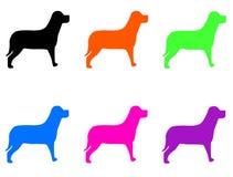 собака 02 иллюстрация вектора